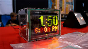 maker faire 2013 the open clock project tested