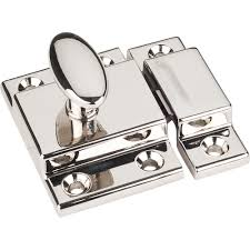 kitchen cabinet catches jeffrey alexander cl101 mechanical cabinet latch and strikeplate