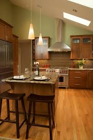 Lighting For Cathedral Ceiling In The Kitchen by 42 Kitchens With Vaulted Ceilings Home Stratosphere