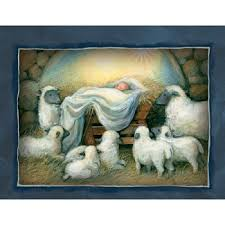 boxed assorted cards nativity artist susan winget