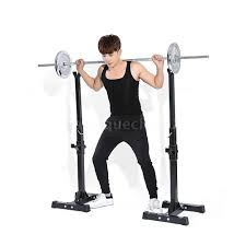 tomshoo gym workout squat rack bench power weight stand lifting