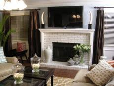 Mosaic Tile Fireplace Surround by Build A Mosaic Tile Fireplace Surround Hgtv