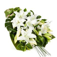 white lillies lilies in vogue white 10 sympathy online fresh
