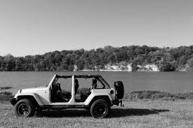 jeep cars white free stock photo of black and white jeep lake