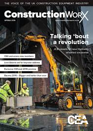 constructionworx spring 2016 by construction equipment