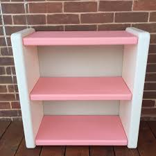 Little Tikes Barbie Dollhouse Furniture by Vintage Little Tikes Pink U0026 White Bookshelf Book Shelf Furniture