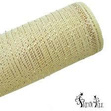 deco mesh ribbon deco poly mesh ribbon with gold foil metallic 21