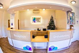 Yellow Reception Desk Bamford Dental Rochdale Lancashire Uk Dental Reception Furniture