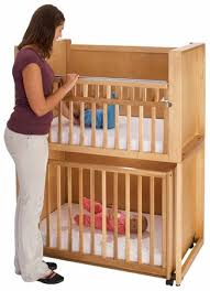 Crib Loft Bed Bunk Bed With Baby Crib Baby And Nursery Furnitures