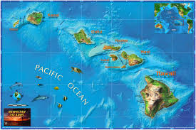 Map Wallpaper Hawaiian Islands Minecraft Project
