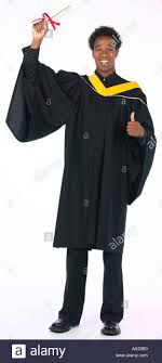 graduation gown wearing graduation gown uid 1448348 stock photo 1712303