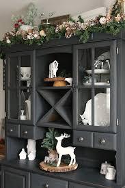 dining room hutch decorating ideas masterly photos on christmas