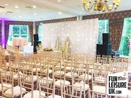 wedding backdrop hire uk led black starlit backdrop hire leisure uk