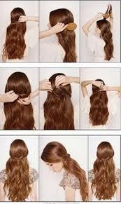 cutes aline hair cute simple hairstyles for long hair long hairstyle galleries