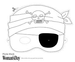 printable halloween masks color printable coloring pages