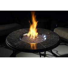 Umbrella Table Lazy Susan by 42 Inch Chat Propane Gas Fire Pit Table With Granite Top And Lazy