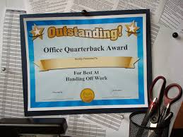 fun certificate templates funny office superlatives funny award ideas