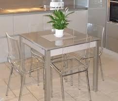 table de cuisine et chaise table de cuisine chaises table ronde blanche avec rallonge lepetitsiam