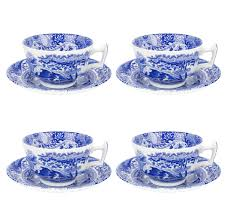 spode blue italian set of 2 pickle dishes spode usa