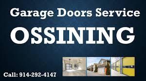 Overhead Garage Door Services by Garage Door Ossining New York 914 292 4147 Ossining Repairs And