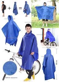 bicycle raincoat poncho bicycle raincoat unisex rain coat waterproof hood