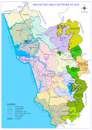Goa Map Forest Department
