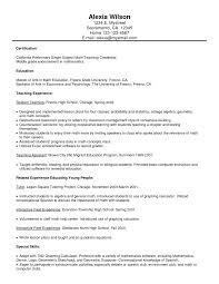 math tutor resume cover letter high school resume template high school math
