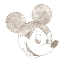 drawn mouse pencil drawing pencil and in color drawn mouse