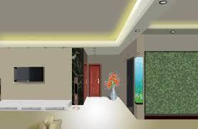 False Ceiling Designs For L Shaped Living Room L Shaped Hall False Ceiling For The Entrance Home Combo