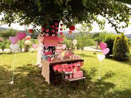 Backyard Birthday Decoration Ideas Kara U0027s Party Ideas Love Pink Ombre Gold Birthday Party Kara U0027s