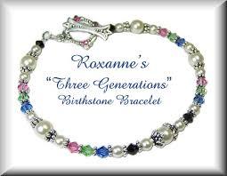 custom birthstone bracelets roxanne s custom beaded birthstone bracelet design by jades