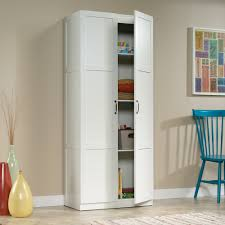 sauder homeplus four shelf storage cabinet sauder select storage cabinet 419636 sauder