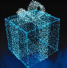 lighted outdoor decorations gift boxes lighted outdoor