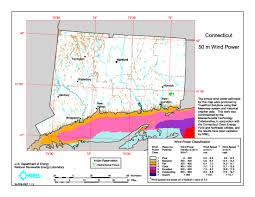 Connecticut State Map by Download Free Connecticut Wind Energy Maps