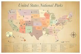 Mesa Verde Map Us National Parks Map Adventure Awaits Us Parks Map