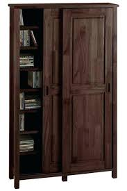 Wooden Storage Closet With Doors Wooden Storage Cabinet Solid Wood Cabinets With Doors