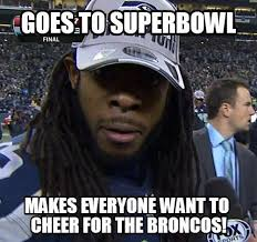 Richard Sherman Memes - seattle seahawks richard sherman shows how to win friends and