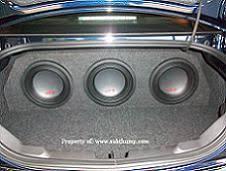 camaro speaker box 2010 2015 subwoofer enclosure by subthump