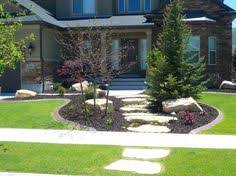 Landscape Design Backyard by Landscaping For Sloped Front Yard With Steps Home Pinterest