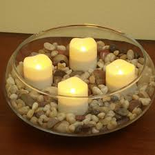 flameless tea light candles with timer by pacific accents