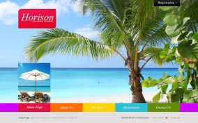 traveling websites images Website template 31579 horizon travel agency custom website jpg