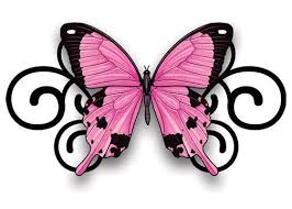 pink and black temporary set set and