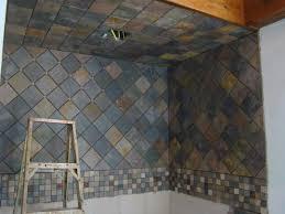 Bathroom Slate Tile Ideas by Modern Bathroom Wall Tile Designs Black Shower Ideas Iranews E2