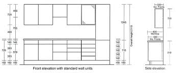 Standard Size Of Kitchen Cabinets Kitchen Cabinets Measurements Standard Kitchen Cabinet Height