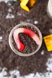 construction dirt cups made to be a momma