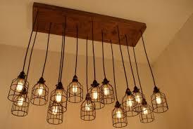 Hanging Edison Bulb Chandelier Decor Impressive Edison Bulb Chandelier For Home Decoration