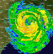 houston doppler map hurricane ike makes landfall fear for what daybreak will bring