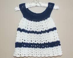 baby dress pinafore crochet newborn dress infant baby