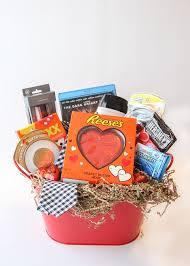 valentine u0027s day gift basket for him busy mommy