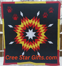 Black Red And Yellow Flag Star Blankets U2013 Queen Baby Sizes Cree Star Gifts